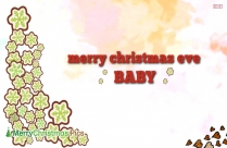 Merry Christmas Baby Greeting