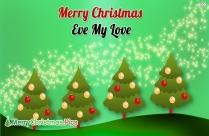 Merry Christmas Eve My Love Image