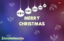 Merry Christmas Image 2020