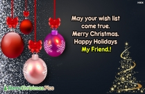Merry Christmas Slogan
