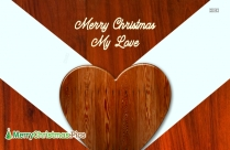 Merry Christmas For My Love