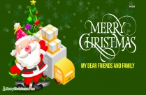 Merry Christmas Hearty Wishes