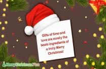 Merry Christmas English Wishes