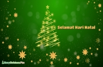 Merry Christmas Wishes in Malay