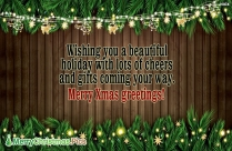 Merry Christmas Greetings Image