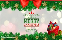 Merry Christmas Holidays Telugu