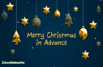Christmas Advance Wishes Chinese