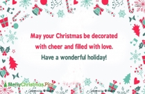 Merry Christmas In Advance Images