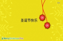 Merry Christmas In Chinese Characters