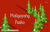 Merry Christmas In Filipino