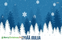 Merry Christmas In Finnish