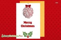 Merry Christmas 2020 Card