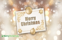 Merry Christmas Sign For Wall