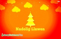 Merry Christmas In Welsh Language