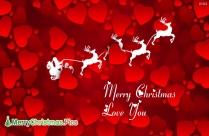 Merry Christmas Love You