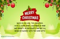 Merry Christmas Prayers To You