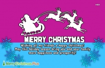 Merry Christmas Quote For Friends