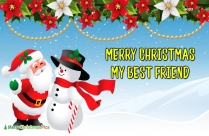 Merry Christmas My Best Friend