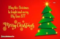 Merry Christmas My Bff
