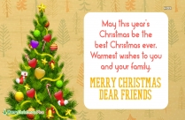 Merry Christmas My Business Friends