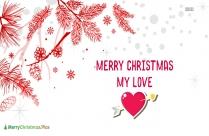 Merry Christmas I Love You