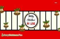 Merry Christmas My Love Gif