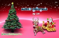 Merry Christmas My Son Image