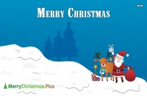 Merry Christmas Cute Image