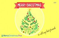 Merry Christmas Photo Frame