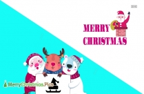Merry Christmas Pictures For Kids