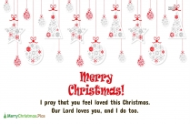 Happy Christmas Wishes With Love