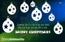 Merry Christmas Quote And Image
