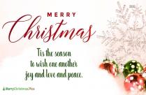 Merry Christmas Beautiful Greetings
