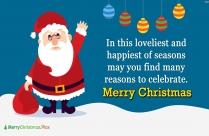 Merry Christmas Santa Blessings