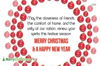 merry christmas message greetings