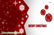 Merry Christmas Red Image