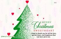Wish You A Merry Christmas My Dear