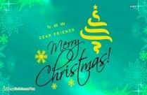 Merry Christmas My Dear Friends