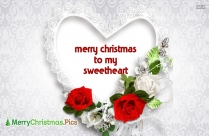 Merry Christmas To My Sweetheart