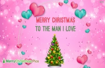 Merry Christmas Darling Image
