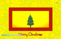 Merry Christmas Tree Wallpaper Background
