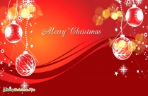 Merry Christmas And Happy New Year In Advance