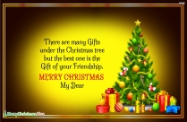 Wish You A Merry Christmas Ahead
