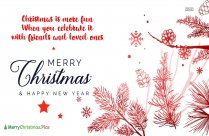 Merry Christmas Wishes To My Bff