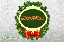Merry Christmas Wreath Images