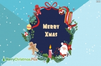Happy Christmas Hd Wallpaper