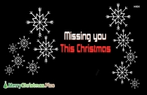 Missing You This Christmas