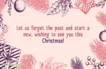 Wonderful Christmas And New Year Wishes