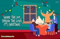 Santa And Reindeer Image