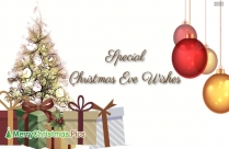Special Christmas Eve Wishes